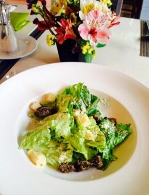 Crispy Lengua Ceasar Salad - Casa Roces