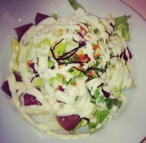 Spicy Tuna Salad - Tokyo Bubbletea